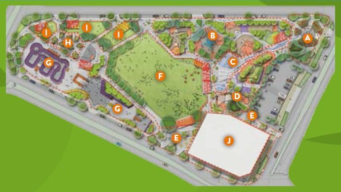 Town Park map small