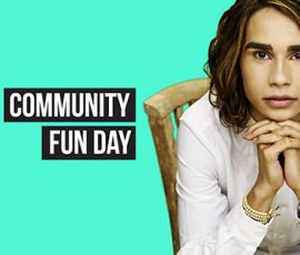 Isaiah Firebrace will perform at the Playford Alive Community Fun Day 2017