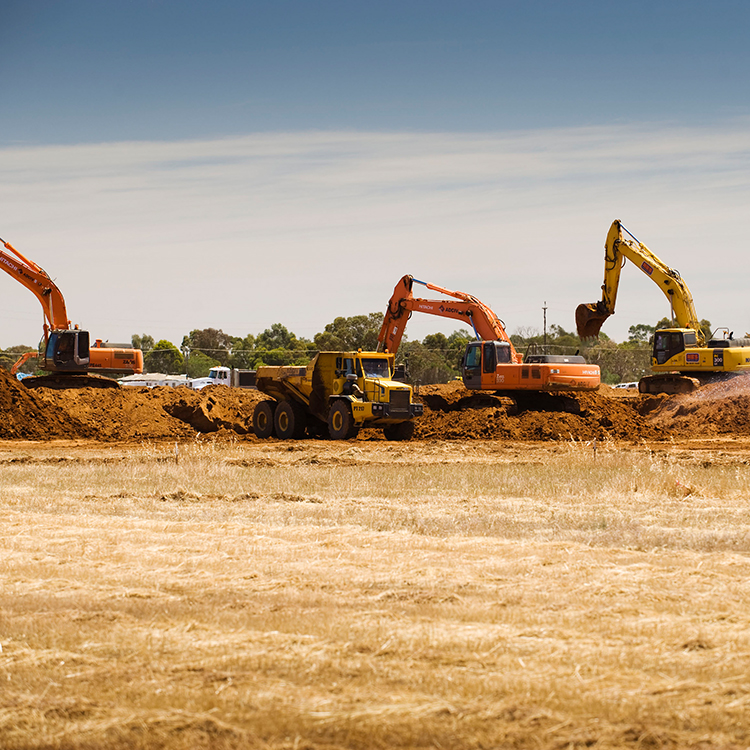 Playford Alive construction beginning on site in 2008